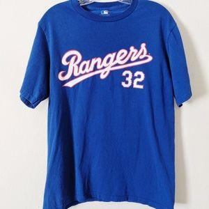 Texas Rangers #32 Josh Hamilton T-shirt